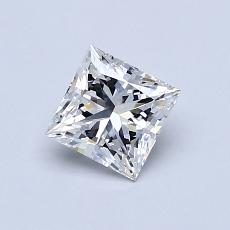 Recommended Stone #4: 0.70-Carat Princess Cut Diamond