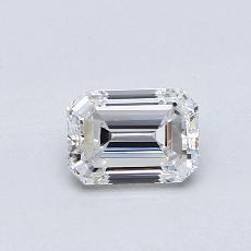 Recommended Stone #2: 0.58-Carat Emerald Cut Diamond