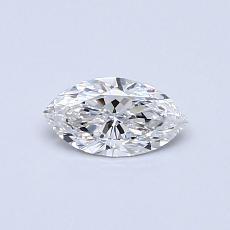 Pierre recommandée n°4: Diamant taille princesse 0,31 carat