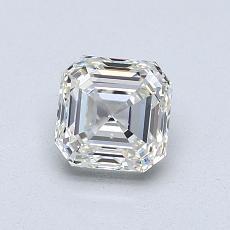 Recommended Stone #1: 0.96-Carat Asscher Cut Diamond