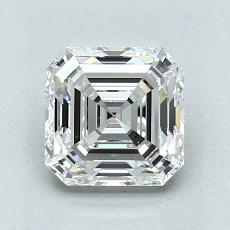 1,72-Carat Asscher Diamond Very Good E VS1