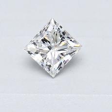 Recommended Stone #4: 0.35-Carat Princess Cut Diamond