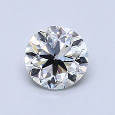オススメの石No.1:1.00カラットのラウンドカットダイヤモンド