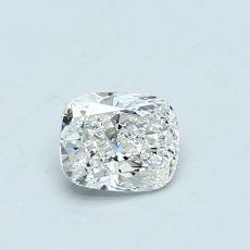 推薦鑽石 #4: 0.50  克拉墊形切割鑽石