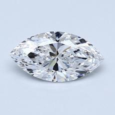 0.70-Carat Marquise Diamond Very Good D VS2