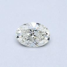 Recommended Stone #4: 0.30-Carat Oval Cut Diamond