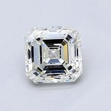 Pierre cible: Diamant taille Asscher 1,01 carat