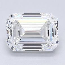 推荐宝石 3:2.01 克拉祖母绿切割钻石