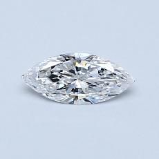 Recommended Stone #1: 0.30-Carat Marquise Cut Diamond