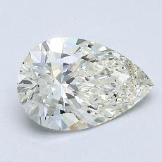Recommended Stone #1: 1.07-Carat Pear Cut Diamond