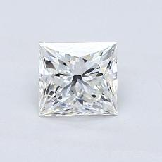 Recommended Stone #3: 0.87-Carat Princess Cut