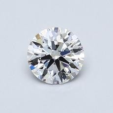 Recommended Stone #1: 0.62-Carat Round Cut Diamond