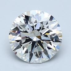Recommended Stone #3: 2.13-Carat Round Cut Diamond