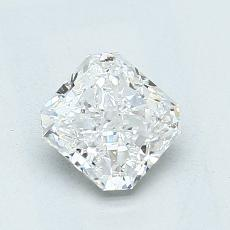 Recommended Stone #2: 1,07-Carat Radiant Cut Diamond