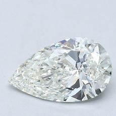 Recommended Stone #4: 1.16-Carat Pear Cut Diamond