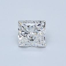Recommended Stone #2: 0.59-Carat Princess Cut Diamond