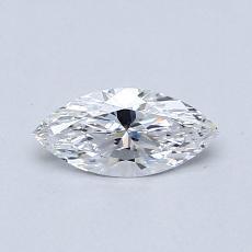 オススメの石No.4:0.37カラットのマーキスカットダイヤモンド