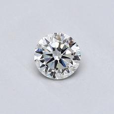 オススメの石No.4:0.31カラットのラウンドカットダイヤモンド