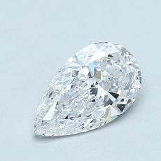 Recommended Stone #4: 1.23-Carat Pear Cut Diamond