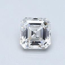 0.75-Carat Asscher Diamond Very Good E VVS2
