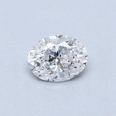 推薦鑽石 #2: 0.41 克拉橢圓形切割鑽石