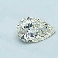 推薦鑽石 #2: 1.01 克拉梨形鑽石