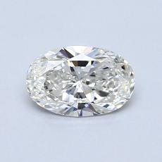 0.70-Carat Oval Diamond Very Good G VVS2