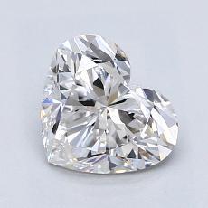 推薦鑽石 #3: 1.40 克拉心形切割鑽石