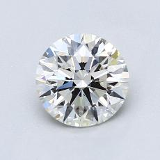 1.00-Carat Round Diamond Ideal I VS1