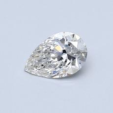 Recommended Stone #1: 0,38-Carat Pear Cut Diamond