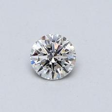 Target Stone: 0.30-Carat Round Cut Diamond