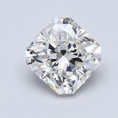 1.51 Carat ラディアント Diamond ベリーグッド F VVS1