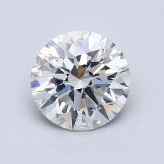 1,10-Carat Round Diamond Ideal I VS2