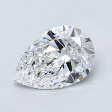 Recommended Stone #4: 1,01-Carat Pear Cut Diamond