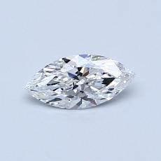 Recommended Stone #2: 0.34-Carat Marquise Cut Diamond