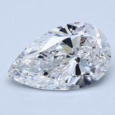 Recommended Stone #1: 1.79-Carat Pear Cut Diamond