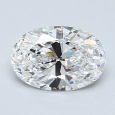Recommended Stone #4: 1,27-Carat Oval Cut