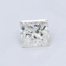 Recommended Stone #4: 0.53-Carat Princess Cut Diamond