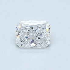 Recommended Stone #1: 0.43-Carat Radiant Cut Diamond
