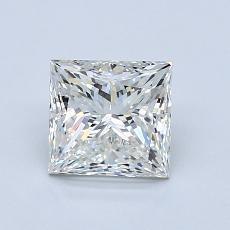 1.20-Carat Princess Diamond Very Good H VS1