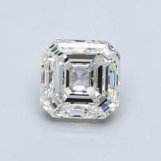 Piedra recomendada 3: Diamante de talla Asscher de 1.05 quilates