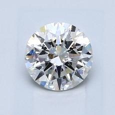 1.00 Carat 圓形 Diamond 理想 H SI2
