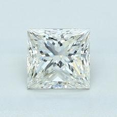 1.01 Carat 公主方形 Diamond 非常好 J SI1