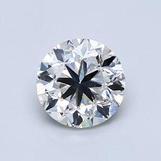 0.90-Carat Round Diamond Good F SI1