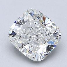 2.02-Carat Cushion Diamond Very Good G VS1