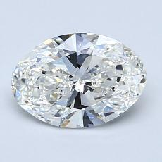 1.23-Carat Oval Diamond Very Good G VS1