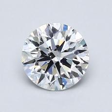 1.00 Carat 圓形 Diamond 理想 D VS2