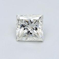 Recommended Stone #3: 0.64-Carat Princess Cut Diamond
