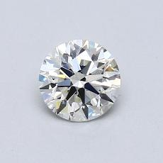 0.60-Carat Round Diamond Ideal K VS1