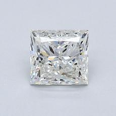 0.82-Carat Princess Diamond Very Good I VS1
